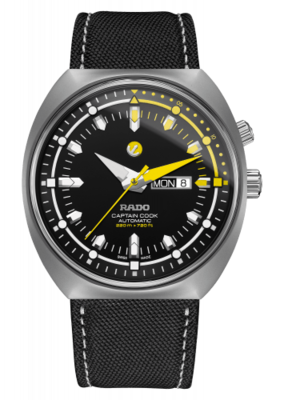 Tradition Captain Cook MKIII Black Dial 47MM Automatic R33030176