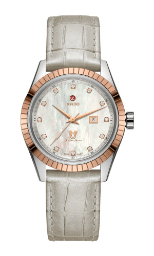 Golden Horse Mother Of Pearl Dial 35MM Automatic R33102905