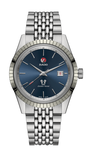 Golden Horse Blue Dial 42MM Automatic R33101203