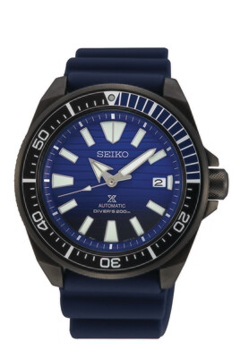"""Prospex Blue Dial 44MM Diver """" Samurai """" Save the Ocean Automatic SRPD09"""
