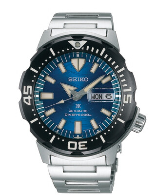 """Prospex Blue Dial 45MM Diver Save the Ocean """" Monster """" Automatic SRPE09"""