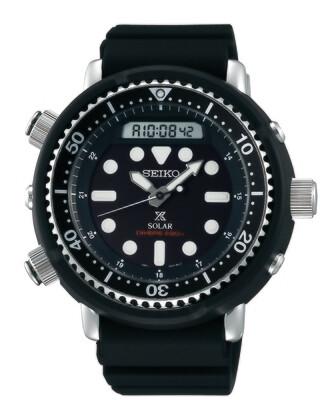 """Prospex Black Dial 48MM """" Arnie """" Solar Diver SNJ025"""