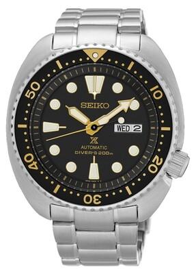 """Prospex Black Dial 45MM Diver """" Turtle """" Automatic SRP775K1"""