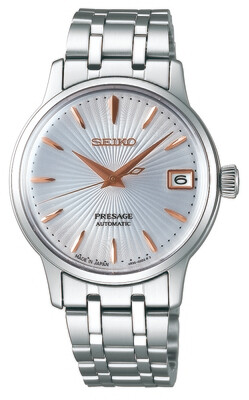 Presage White Dial 34MM Automatic SRP855