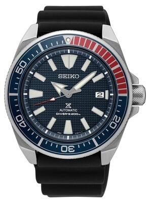 "Prospex Blue Dial 44MM Diver "" Samurai "" PEPSI Bezel Automatic SRPB53"