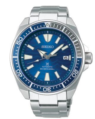 """Prospex Blue Dial 44MM Diver """" Samurai """" Save the Ocean Automatic SRPD23"""