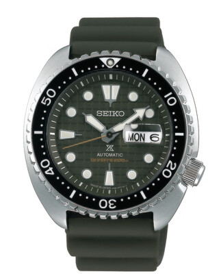 """Propsex Green Dial 45MM Diver """" Turtle """" Automatic SRPE05"""