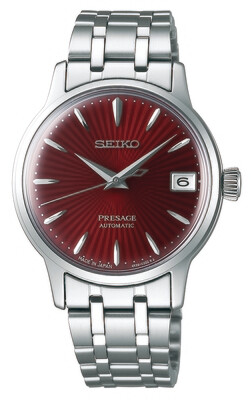 Presage Red Dial 34MM Automatic SRP853