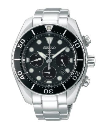 """Prospex Black Dial 45MM Diver """" Sumo """" Solar SSC757"""