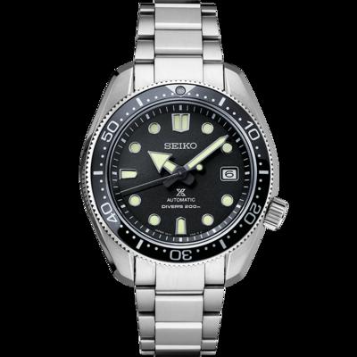 Prospex Black Dial 44MM Diver 1968 Diver MM200 Baby Marine Master Automatic SPB077