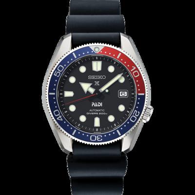 Prospex Black Dial 44MM Diver PADI MM200 Marine Master PEPSI Bezel Automatic SPB087