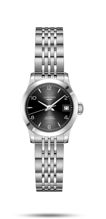 Record Collection Black Dial 26MM Automatic L23204566