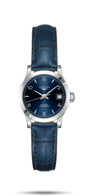 Record Collection Blue Dial 26MM Automatic L23204964