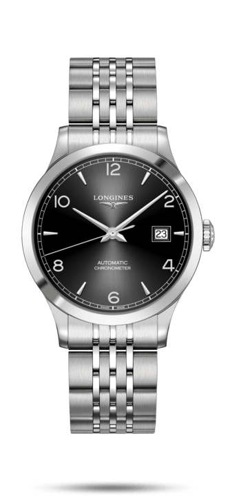 Record Collection Black Dial 38.50MM Automatic L28204566