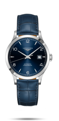 Record Collection Blue Dial 38.50MM Automatic L28204964