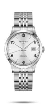 Record Collection Silver Dial 38.50MM Automatic L28204766