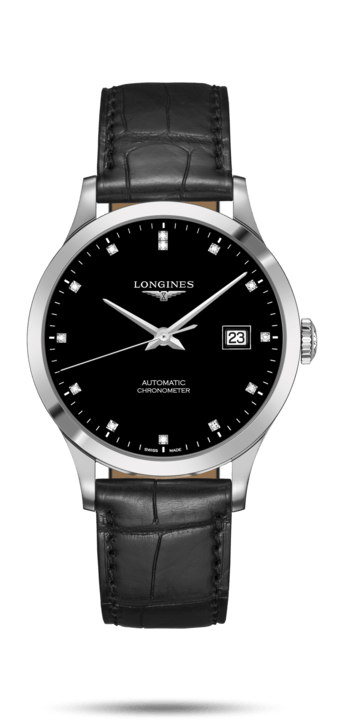 Record Collection Black Dial 40MM Automatic L28214572
