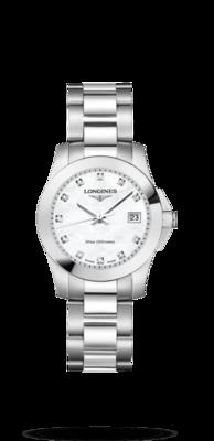 Conquest White Dial 29.50MM Quartz L33764876