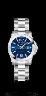 Conquest Blue Dial 29.50MM Quartz L33764966