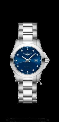 Conquest Blue Dial 29.50MM Quartz L33764976