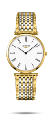 La Grande Classique De Longines White Dial 36MM Quartz L47552117