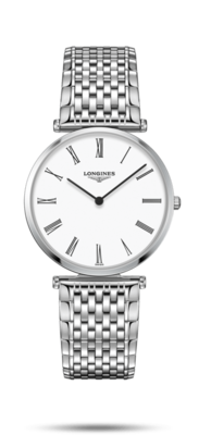 La Grande Classique De Longines White Dial 36MM Quartz L47554116