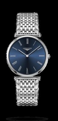 La Grande Classique De Longines Blue Dial 36MM Quartz L47554946