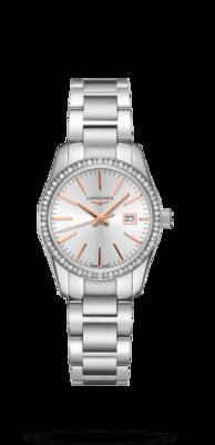 Conquest Classic Silver Dial 29.50MM Quartz L22860726