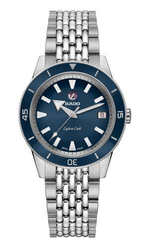 Captain Cook Navy Blue 37MM Automatic R32500203