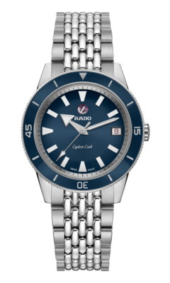 Captain Cook Navy Blue 37MM Automatic R32500203