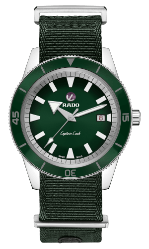 Captain Cook Green Dial 42MM Automatic R32505318