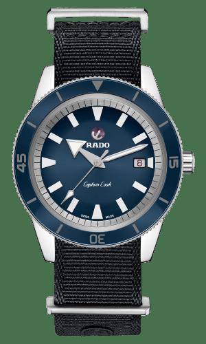Captain Cook Blue Dial 42MM Automatic R32505208