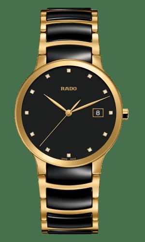 Centrix Black Dial Diamonds 38MM Quartz R30527762