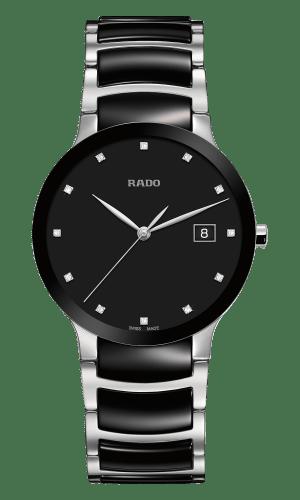 Centrix Black Dial Diamonds 38MM Quartz R30934752