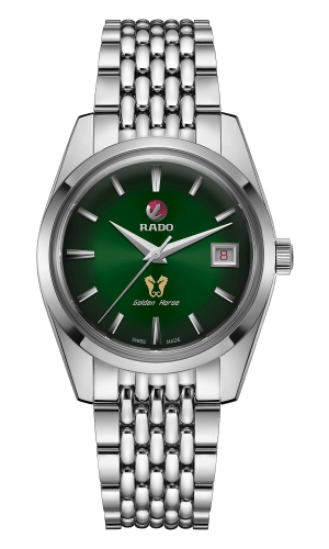 HyperChrome Classic Golden Horse Green Dial 37MM Automatic R33930313