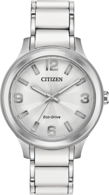Action Required White Dial 36MM Eco-Drive FE7070-52A