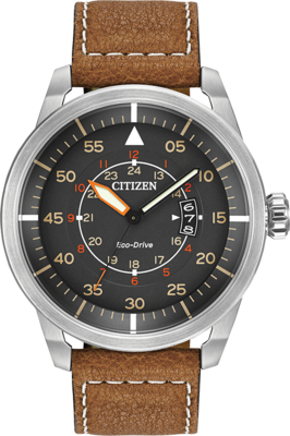 Avion Grey Dial 45MM Eco-Drive AW1361-10H