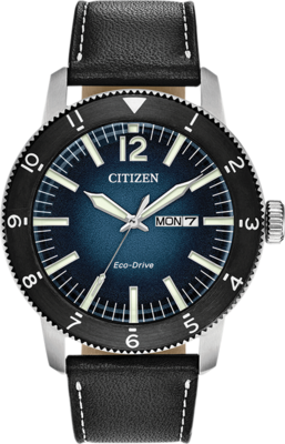 Citizen Brycen Blue Dial 43.5MM Eco-Drive AW0078-08L