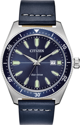 Brycen Blue Dial 43MM Eco-Drive AW1591-01L