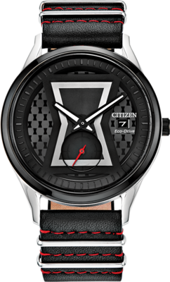 Black Widow Special Edition 40MM Eco-Drive BV1138-01W