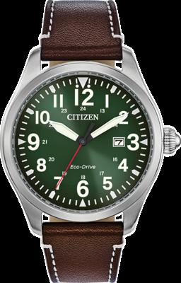 Citizen Garrison Green Dial 42MM Eco-Drive BM6838-09X