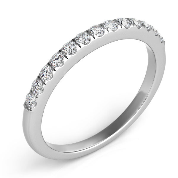 Thin Pave Band