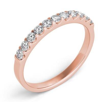 Clawset U Setting Diamond Band