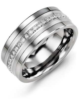 MJF MOD - Men's Eternity Diamond Wedding Band