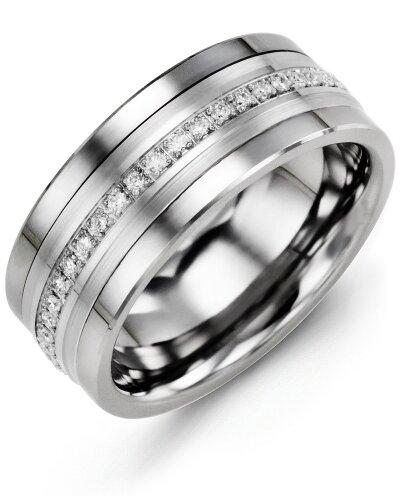 MJF MOD - Men's Eternity Diamond Wedding Band