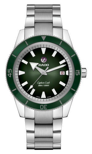 Captain Cook Green Dial 42MM Automatic Special Edition Hrithik Roshan R32105319