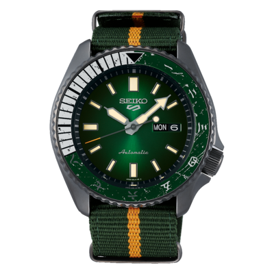 Seiko 5 Sports Special Edition Naruto Dial 43MM Automatic SRPF73K1