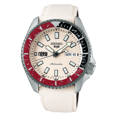 """Seiko 5 Sports Special Edition Street Fighter """"RYU"""" Dial 43MM Automatic SRPF19K1"""