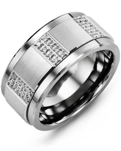 MLT MOD - Men's Quad Duo Diamond Wedding Ring