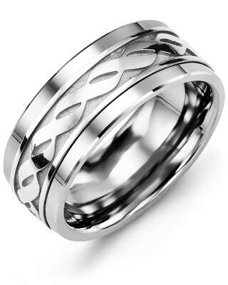 MLE MOD - Men's Infinity Design Wedding Band